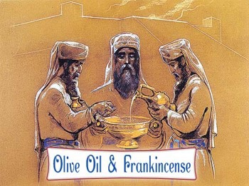 Olive Oil and Frankincense